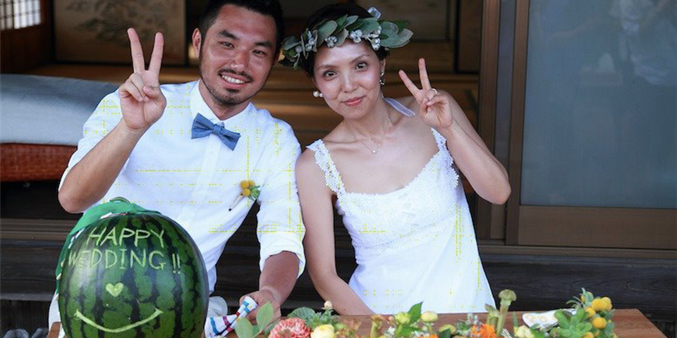 Kouta Wakana & Yoshie Wedding Party 7/16 @ Farm Campus - FARM WEDDING